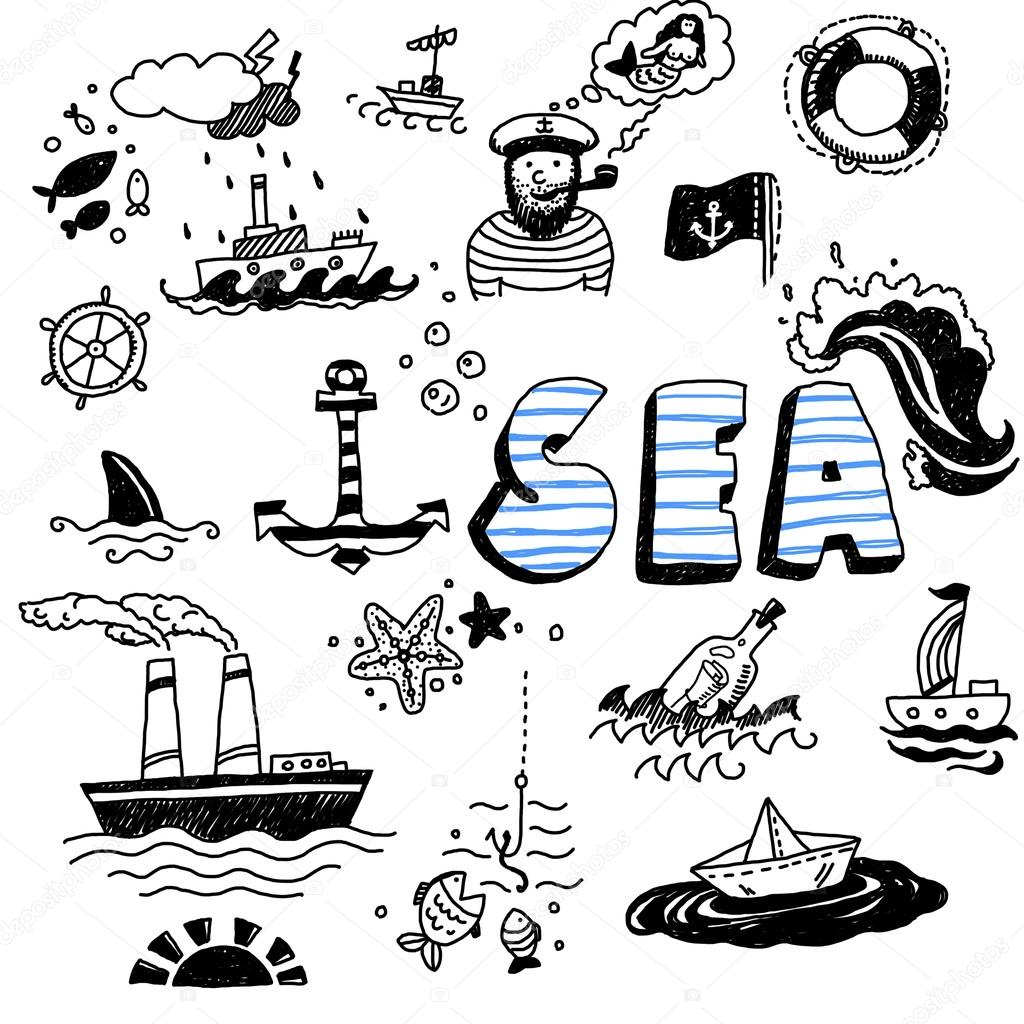 List of Synonyms and Antonyms of the Word: sea symbols