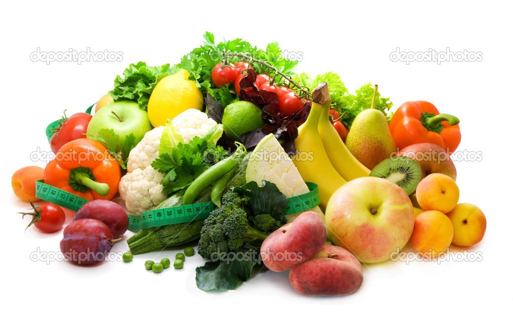 Diferentes Tipos De Verduras Frutas Y Hierbas Picantes