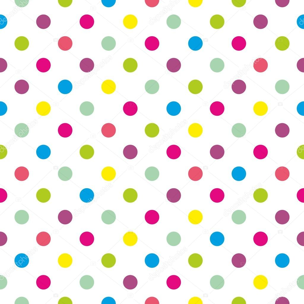 pics Blue Yellow Polka Dots seamless vector pattern or texture with colorful green blue yellow red and pink polka dots on white background stock vector image by c mala ma 41820197