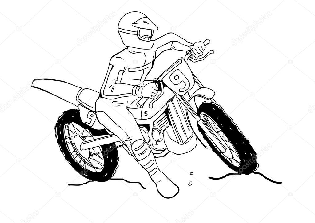 Motocross — Stock Vector © rudall30 #38770253