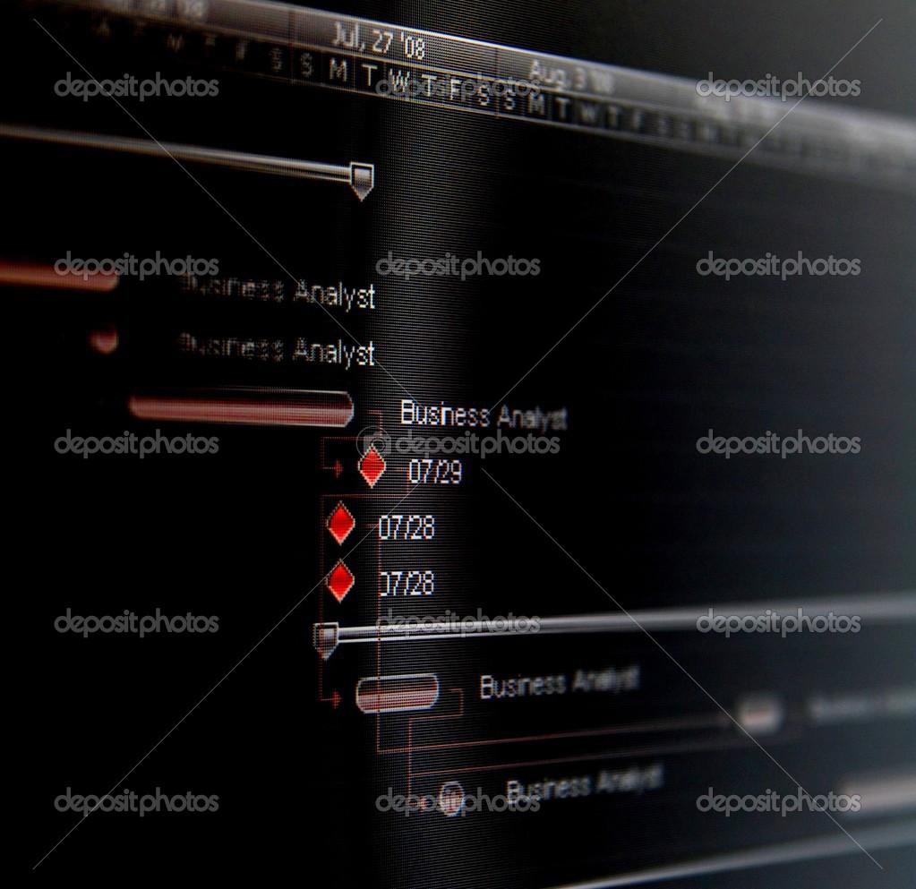 hight resolution of un diagramma di gantt un tipo di grafico a barre che illustra una pianificazione del