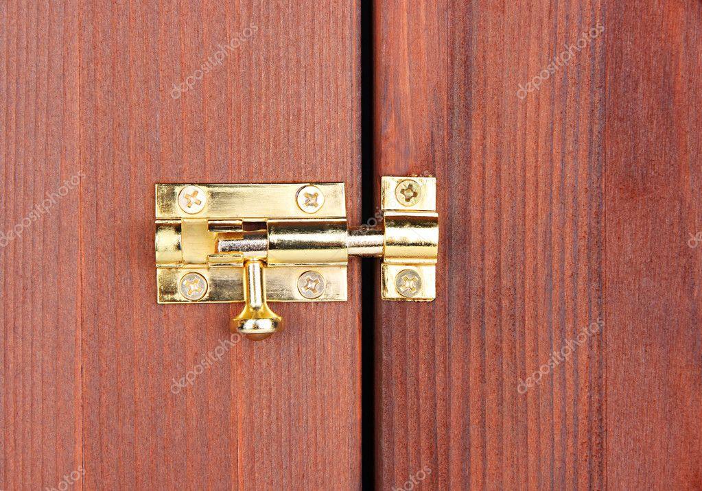 du taquet en gros plan porte en bois image de belchonock