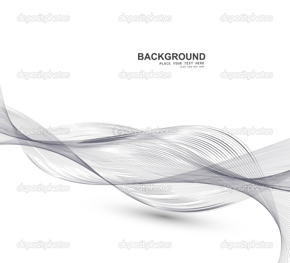 medium resolution of abstract business line wire wave vector whit background stock vector