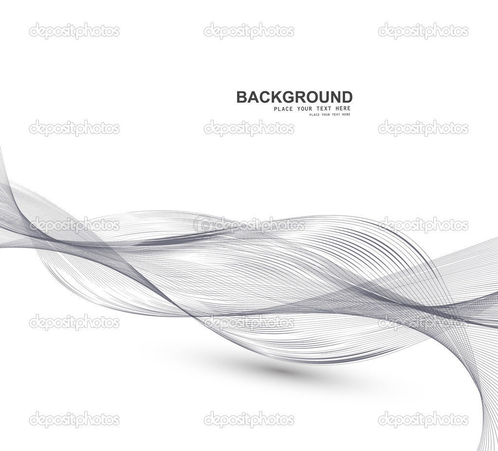 hight resolution of abstract business line wire wave vector whit background stock vector