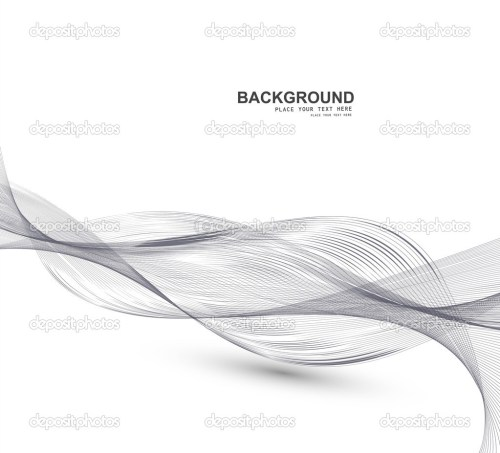 small resolution of abstract business line wire wave vector whit background stock vector