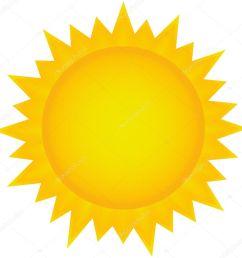 sun clipart stock vector [ 1020 x 1023 Pixel ]