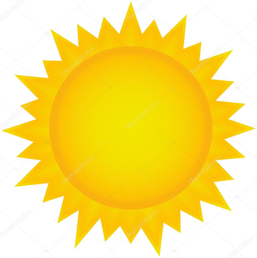 hight resolution of sun clipart stock vector