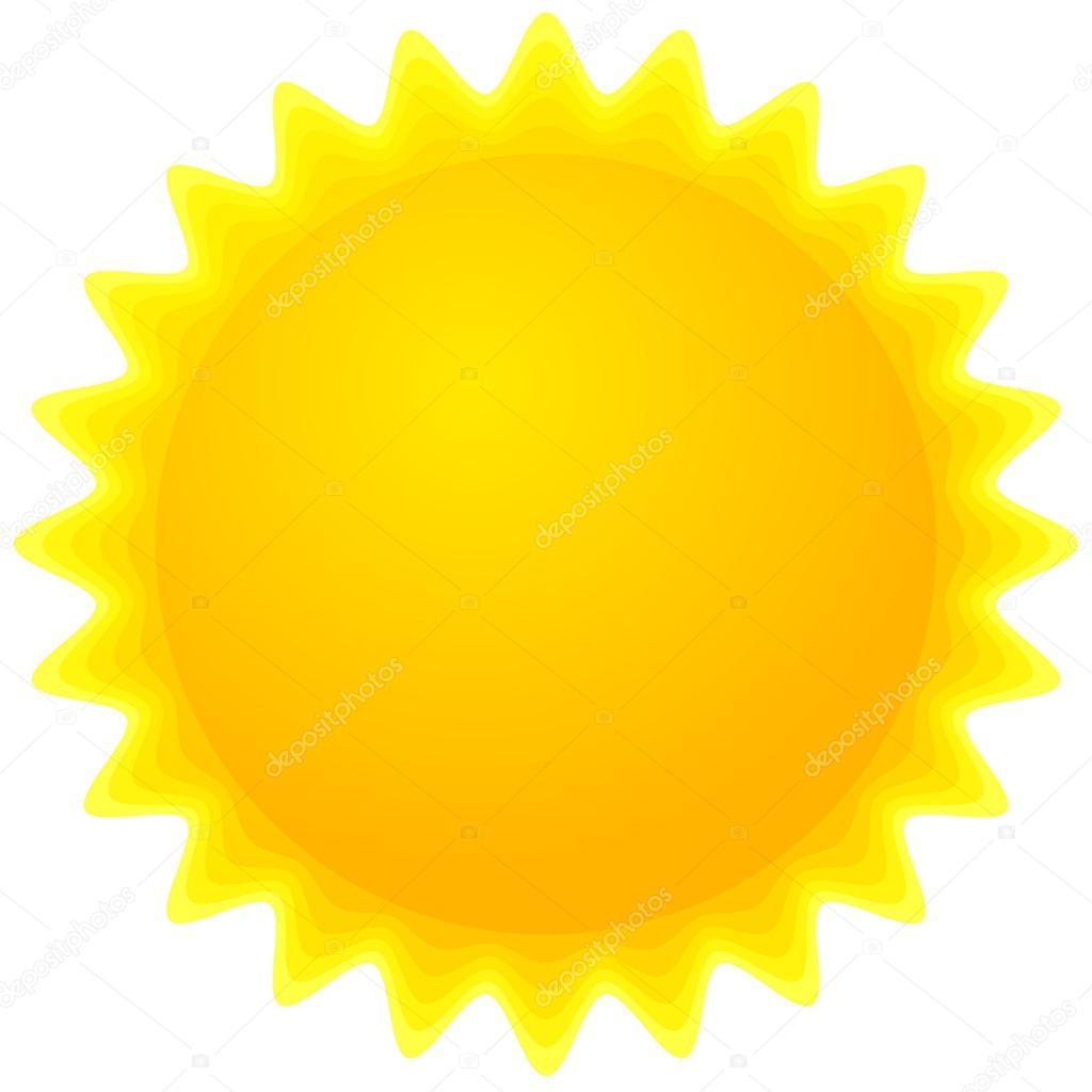 hight resolution of sun clipart stock vector