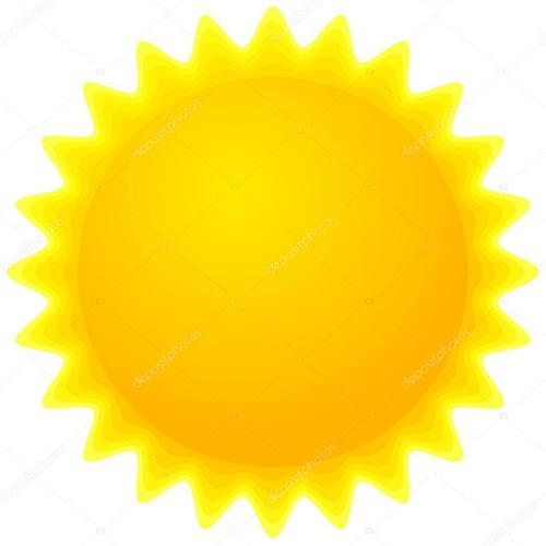 small resolution of sun clipart stock vector