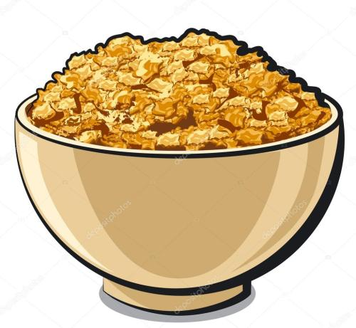 small resolution of tasty cornflakes stock vector