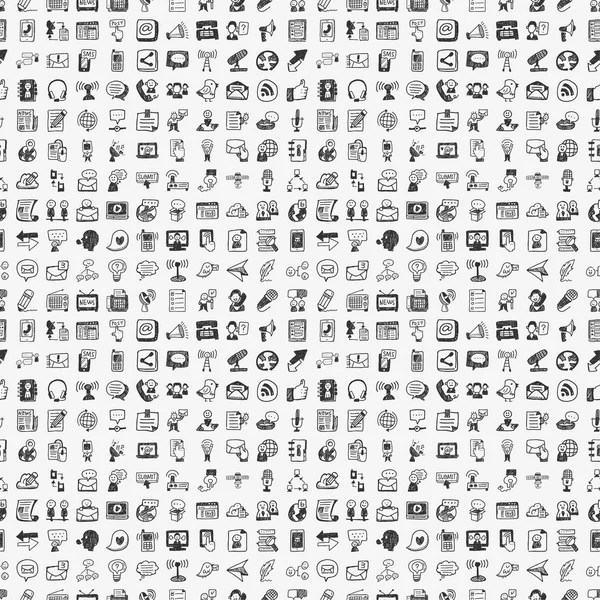 Set of 400 various icons symbols and elements — Stock