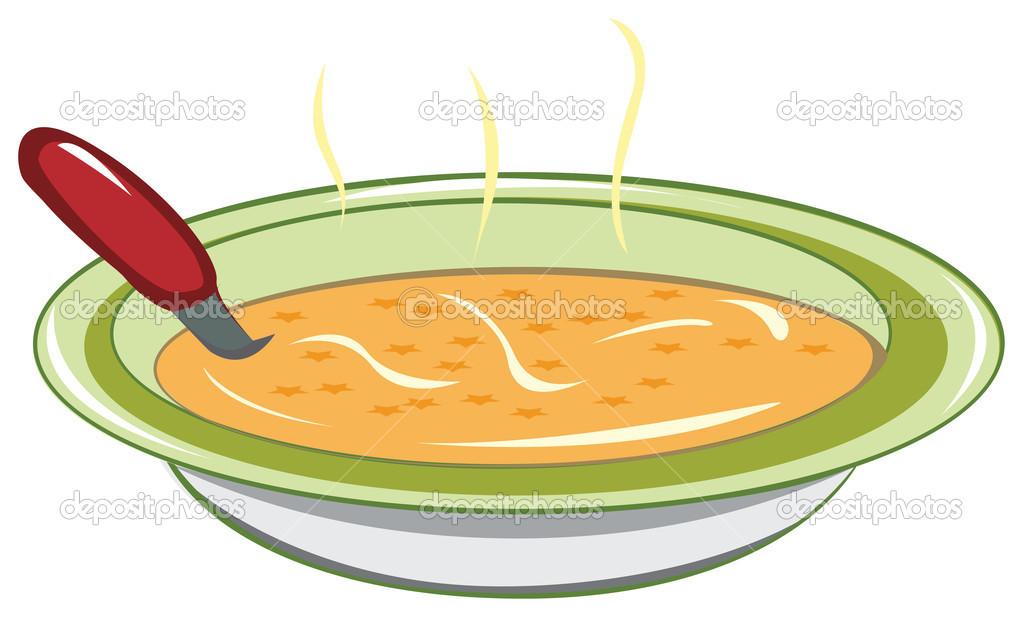 Dibujos plato de sopa  plato de sopa  Vector de stock