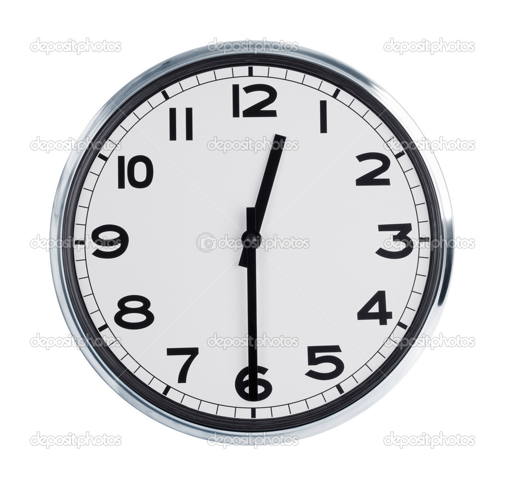 Reloj 12 30