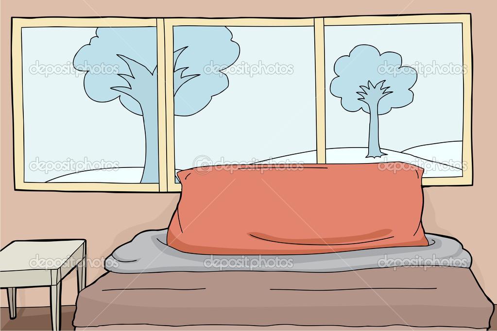 Slaapkamer Achtergrond