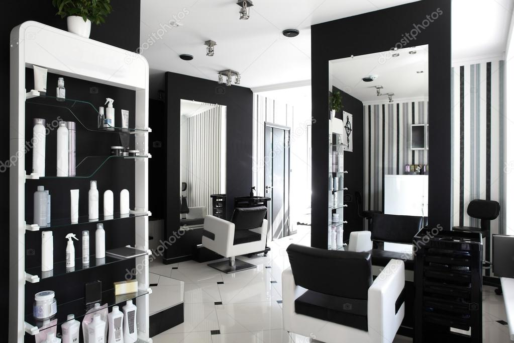 modern beauty salon stock photo