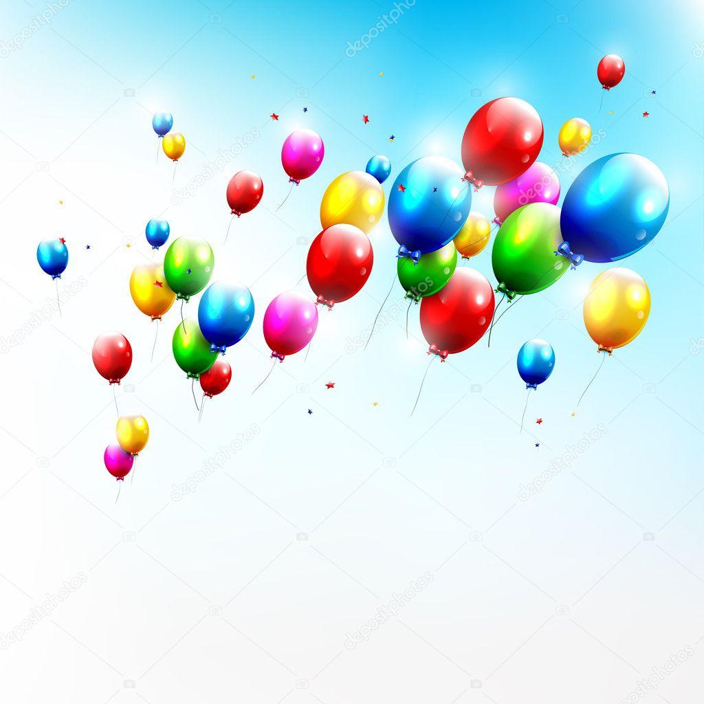 Bilder Geburtstag Luftballons  geburtstagssprche