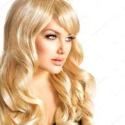 beauty blonde woman. beautiful