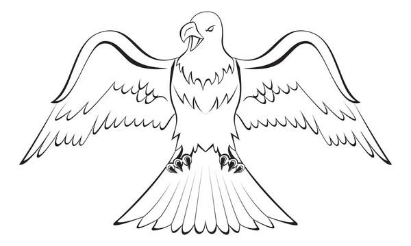 Eagle claw — Stock Vector © premiumdesign #13512789