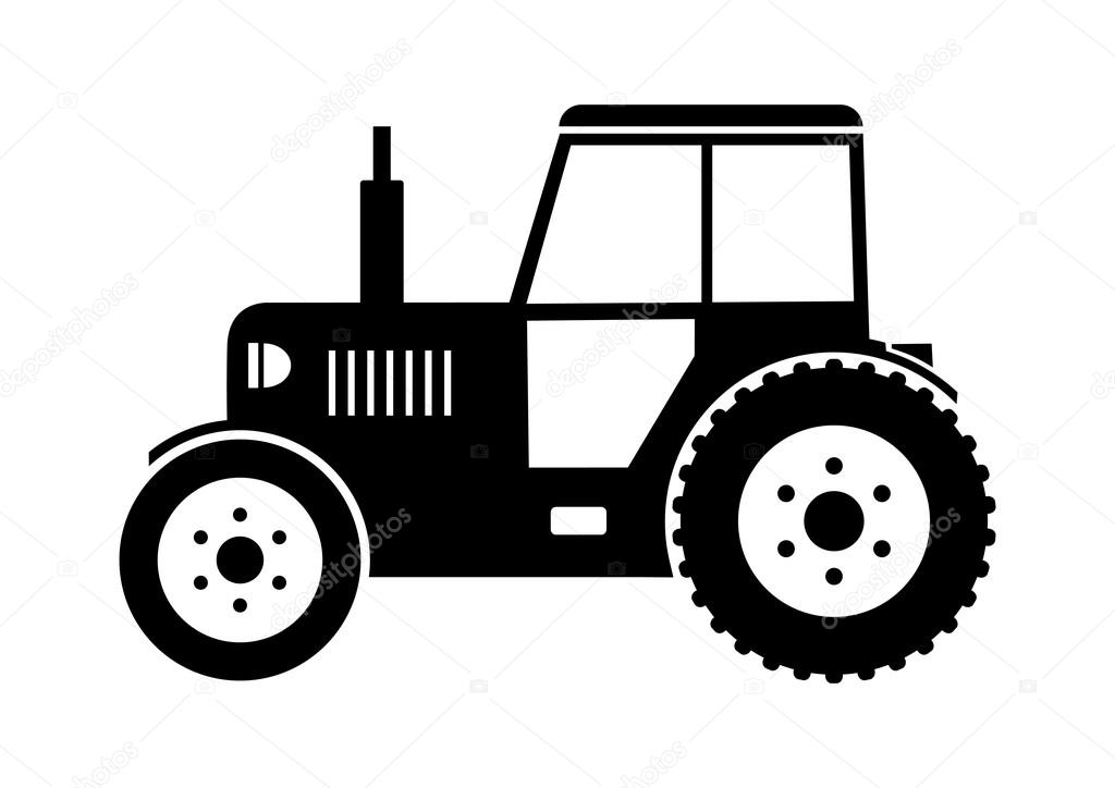 Tractor icon — Stock Vector © Anthonycz #23876803