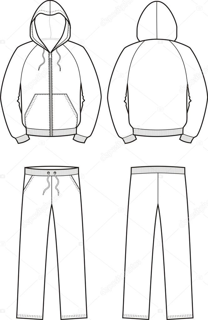 작업복 및 바지 — 스톡 벡터 © pushinka11 #25555093