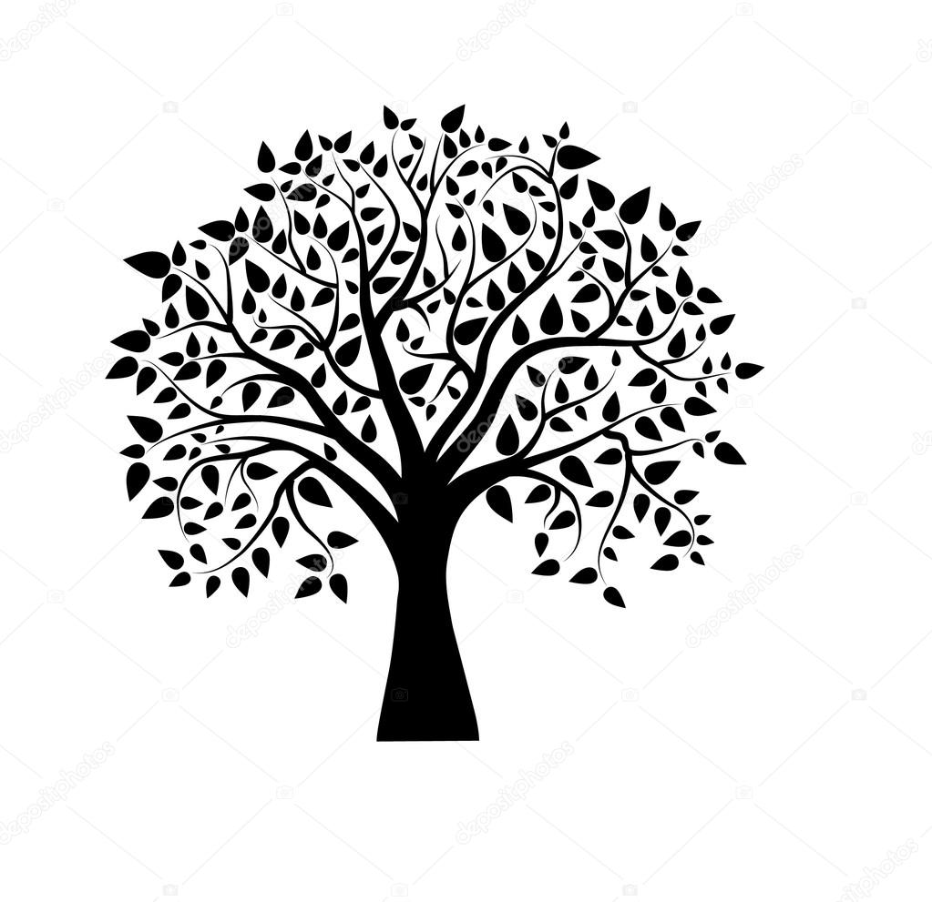 tree stock vectors royalty