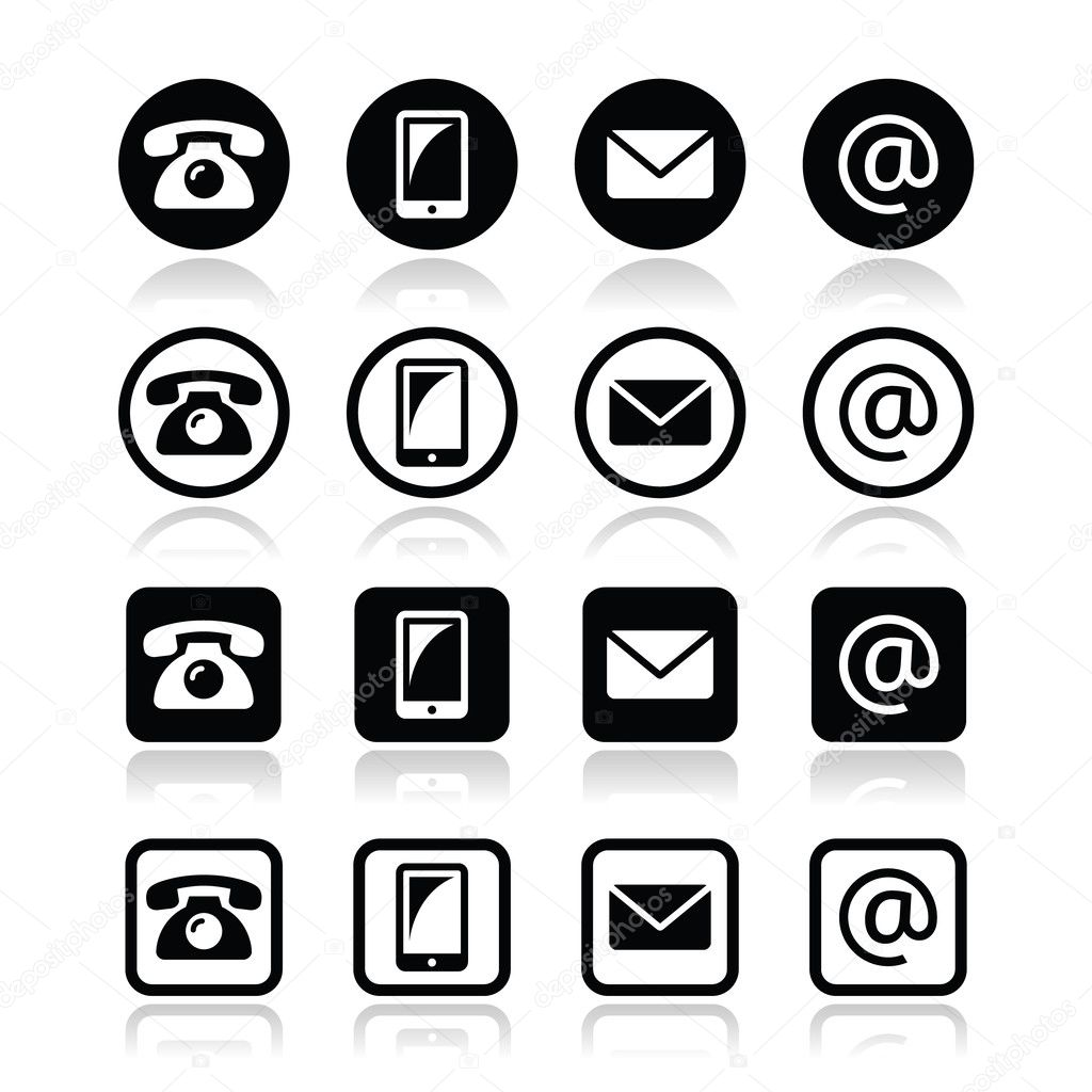 Contact Iconsin Circle And Square Set