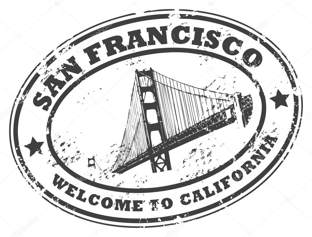 San Francisco California Stamp