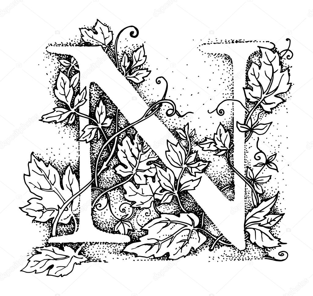 Free coloring pages of initial n