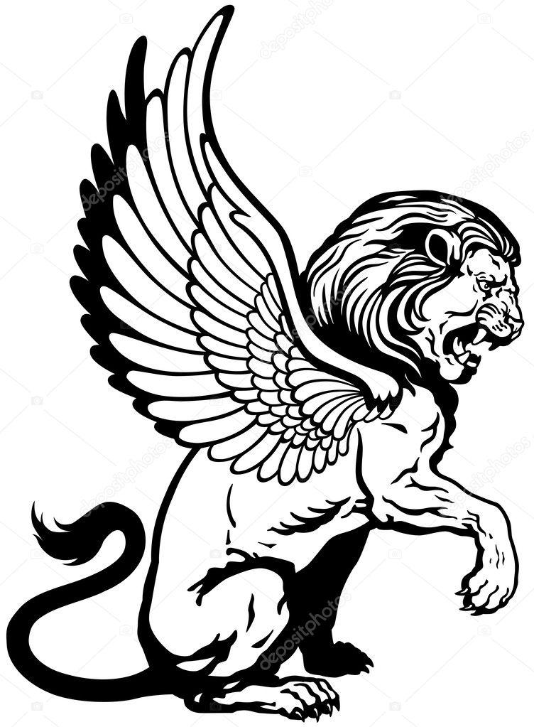 Winged Lion Vectors