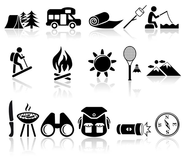 Camping Stock Vectors, Royalty Free Camping Illustrations