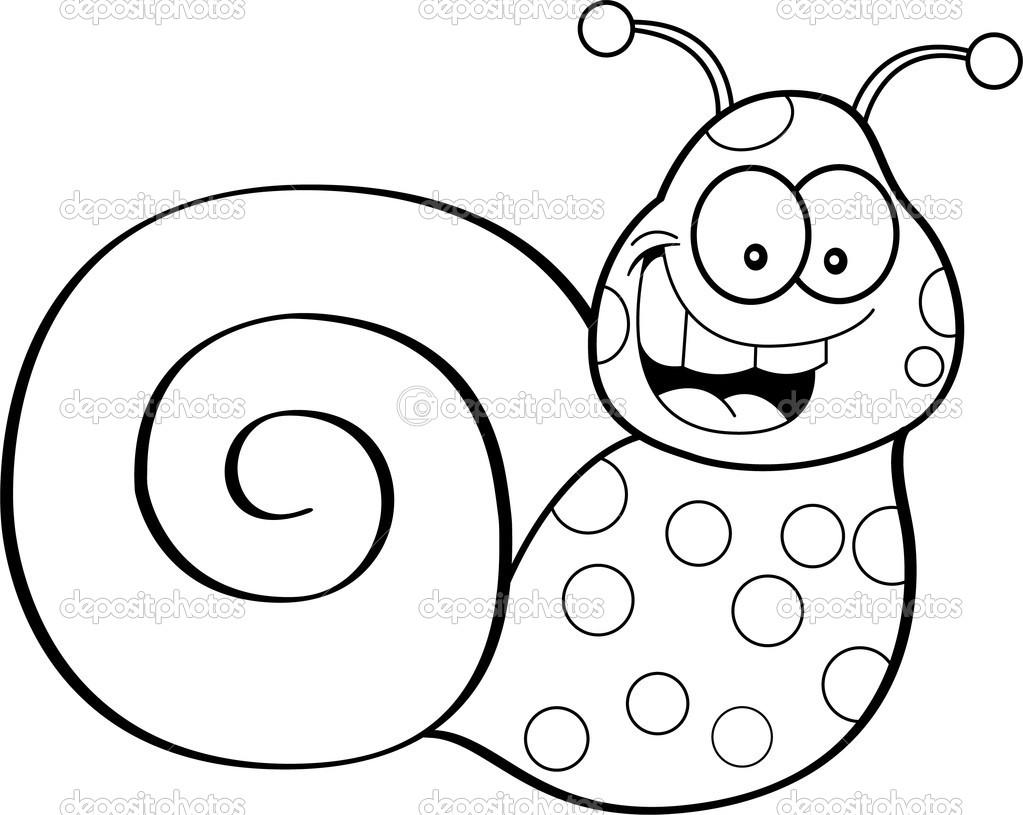 Cartoon snail — Stock Vector © kenbenner #23627745