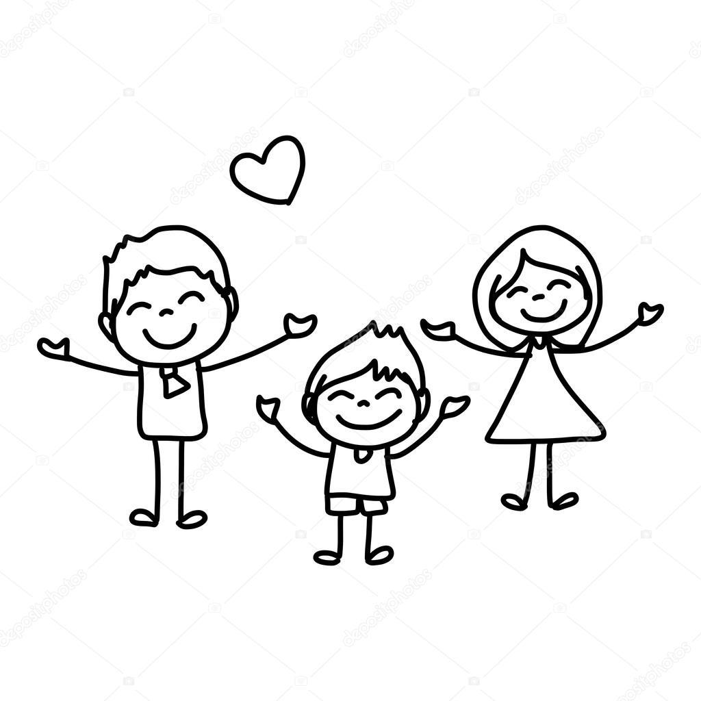 Cartoon Happy Kids