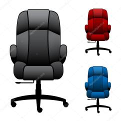 Office Chair Illustration And Accessories Chairs  Stock Vector Happyroman 12333127