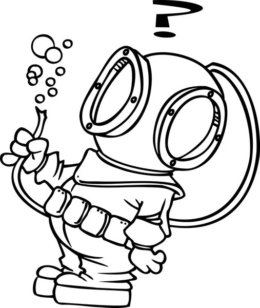 Diver Stock Vectors, Royalty Free Diver Illustrations