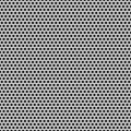 Seamless circle perforated carbon grill texture stock illustration