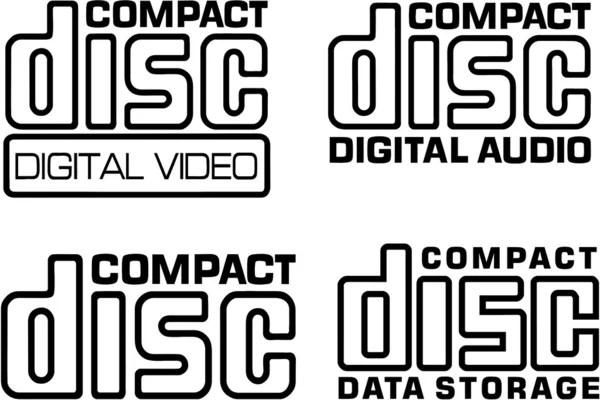 Compact Disc Logo Vector