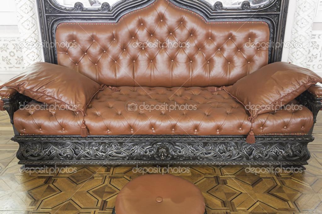 fauteuil rembourre de luxe photo