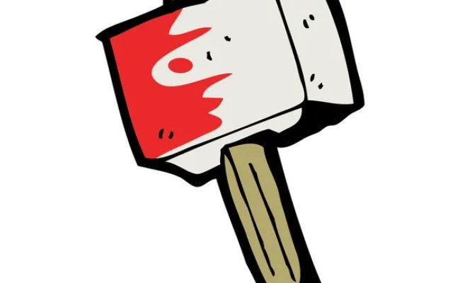 Cartoon Hammer Of Thor Stock Vector Lineartestpilot