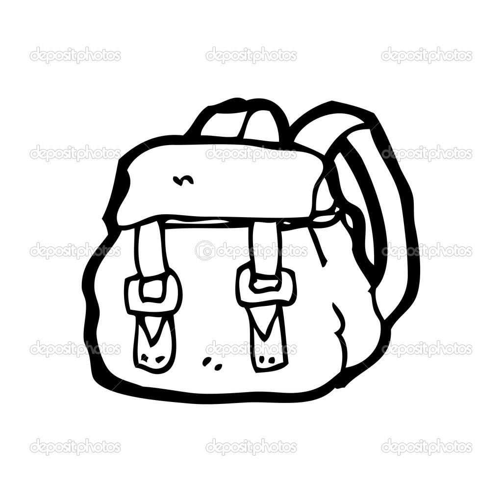 Rucksack Cartoon