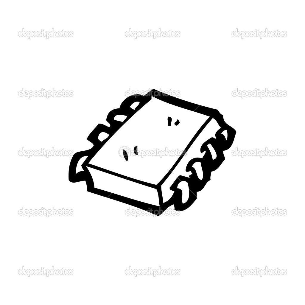 Computer Chip Cartoon
