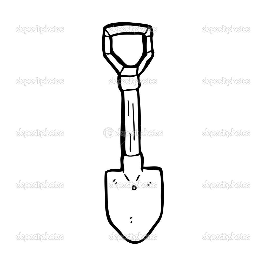 Cartoon Shovel