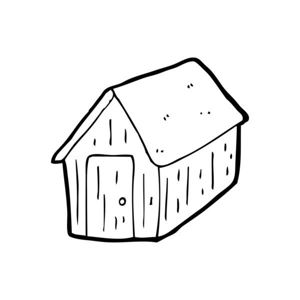 Shed cartoon — Stock Vector © lineartestpilot #13567328