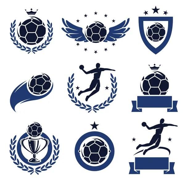 vektorgrafiken handball icon