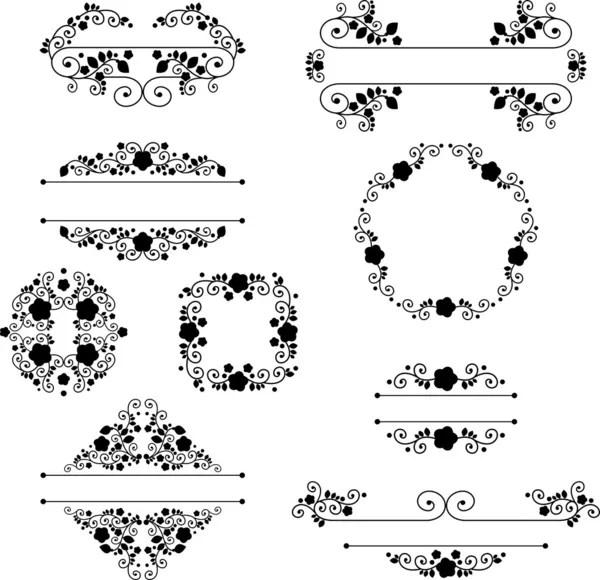 Halloween Decoration Set Of Calligraphic And Typographic