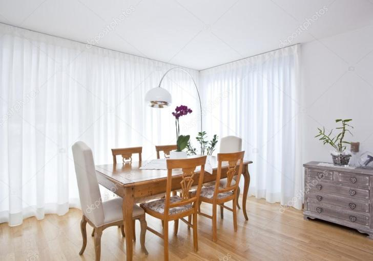 Modern Dining Room Curtains