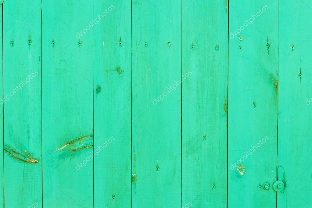 Green Colored Wood