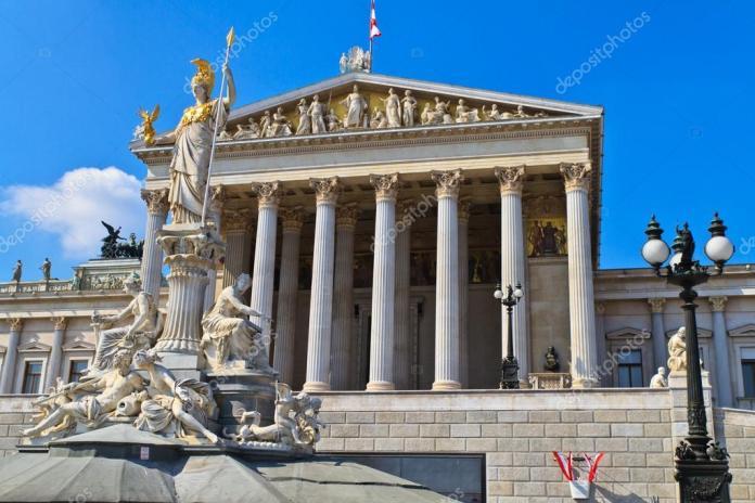 Resultado de imagen para Fotos del parlamento austriaco