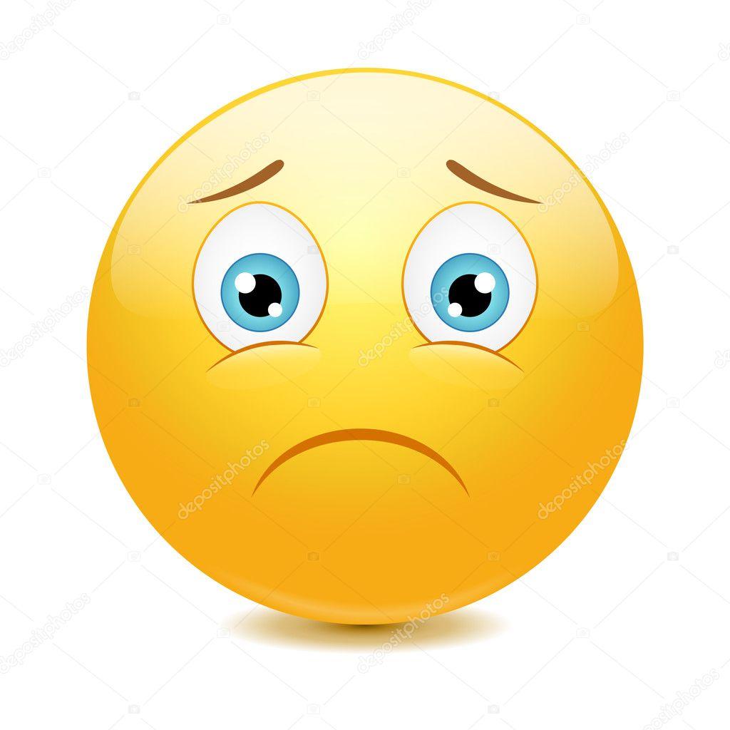 sad face cartoon