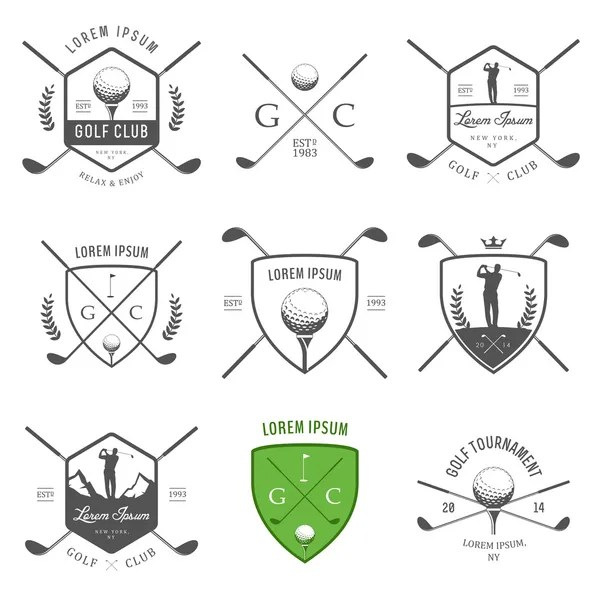 ᐈ Golf silhouettes stock vectors, Royalty Free golfer