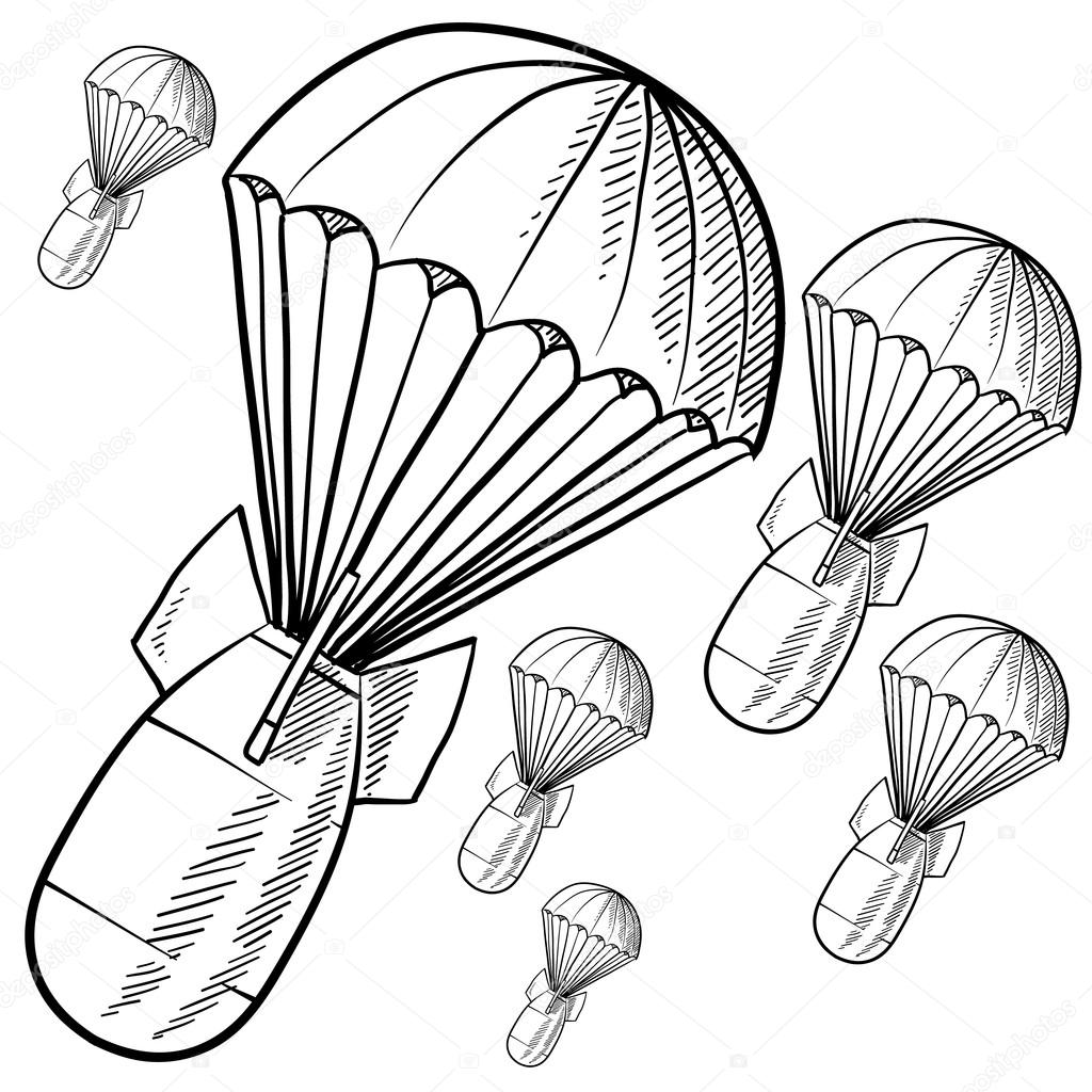 Atomic Bomb Coloring Pages
